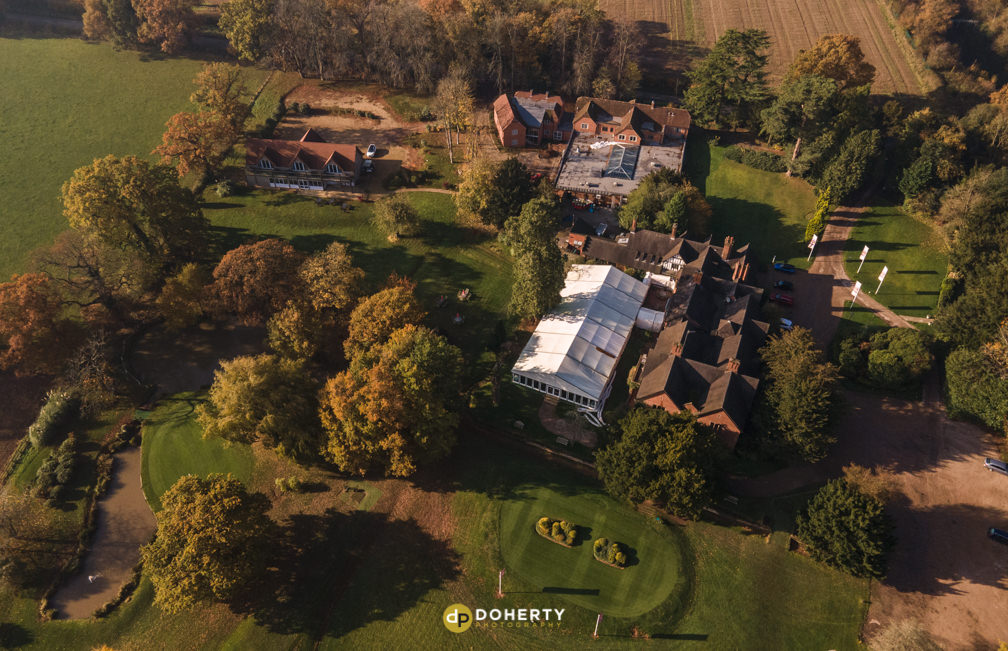 Nailcote Hall drone photography