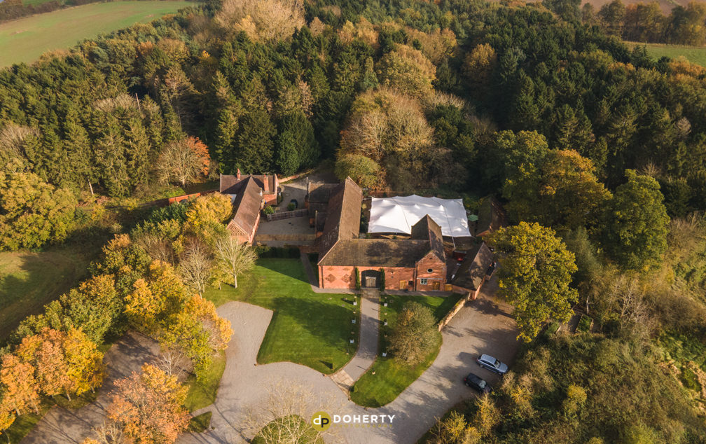 Ariel photo of property in Woods in Midlands
