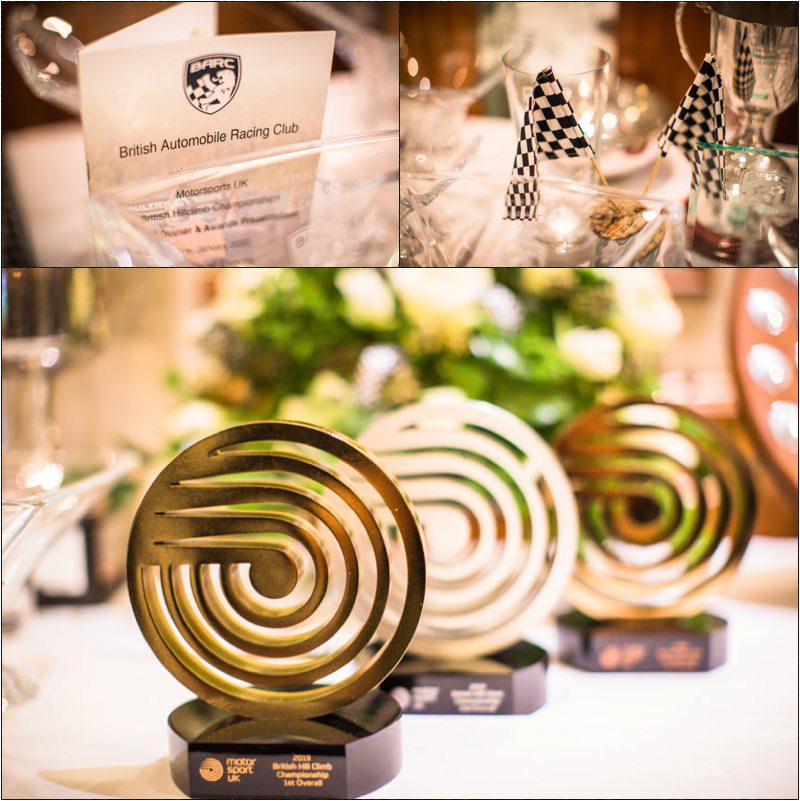 British Automobile Racing Club Awards night