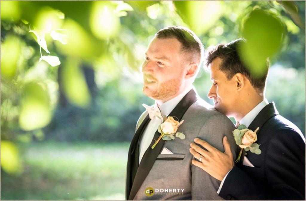 Same-sex wedding portraits Coventry