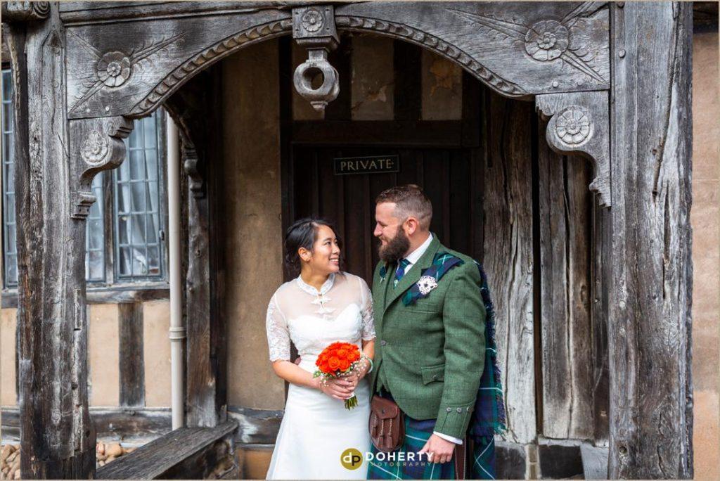 Warwick Wedding Photographer - Lord Leycester
