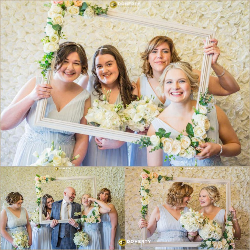 bridesmaids at Ansty Hall