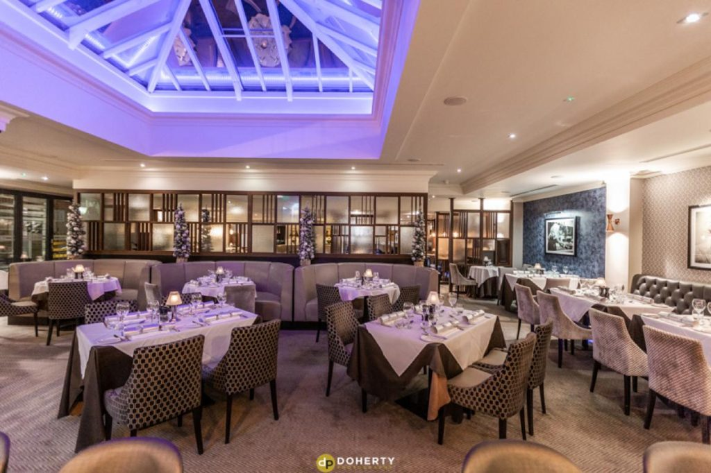 Interior Photography of hotel restaurant