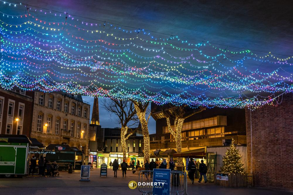 Christmas LED Lights and Banners in Coventry