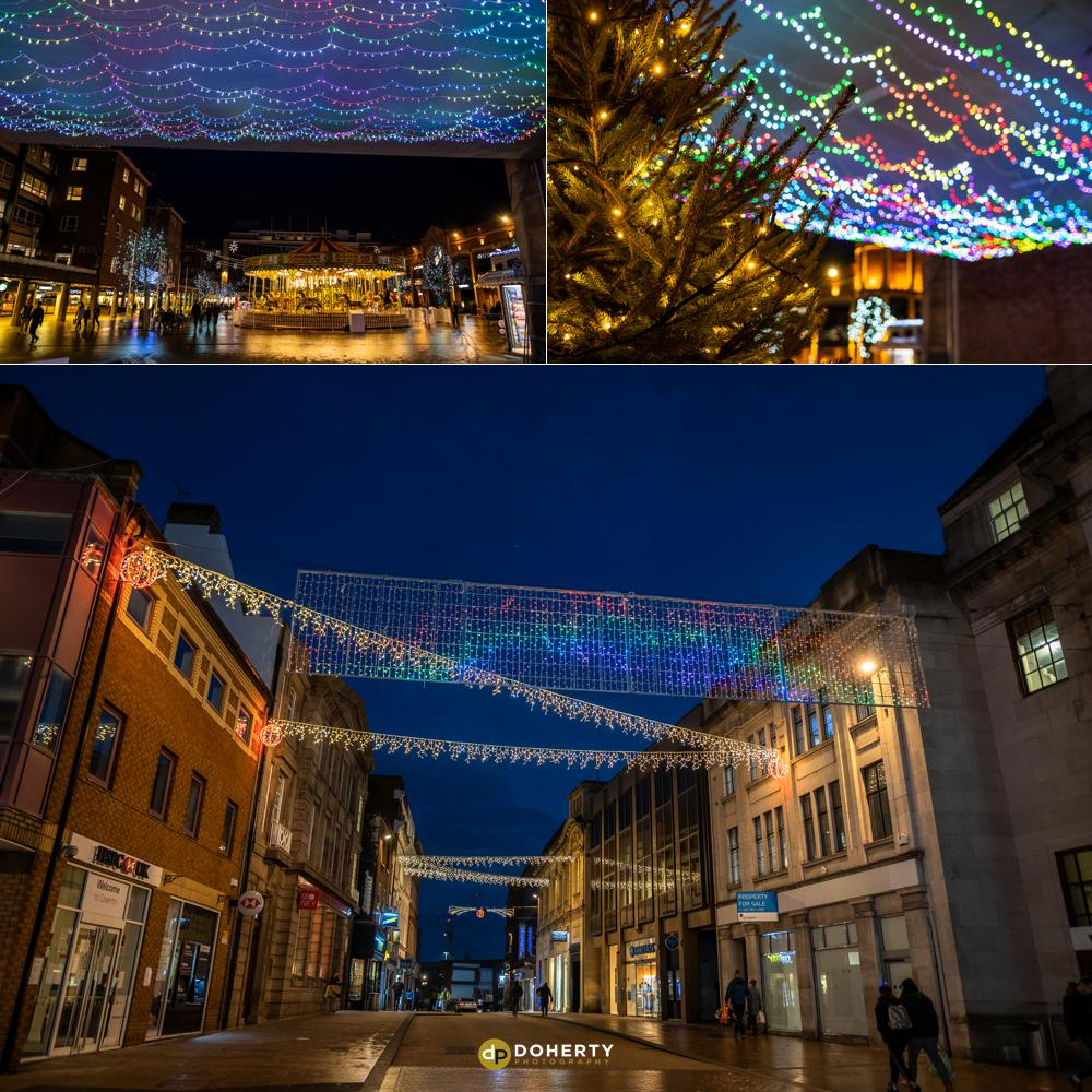 Commercial Photography - Coventry - Christmas Lights