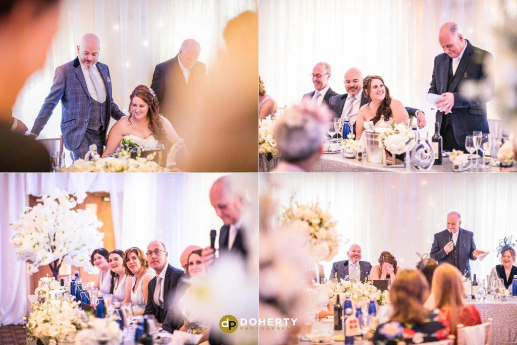 Wedding Speeches at Ansty Hall