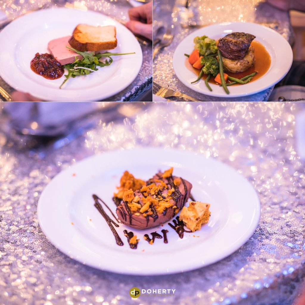 Wedding food photos at Ansty Hall in Coventry