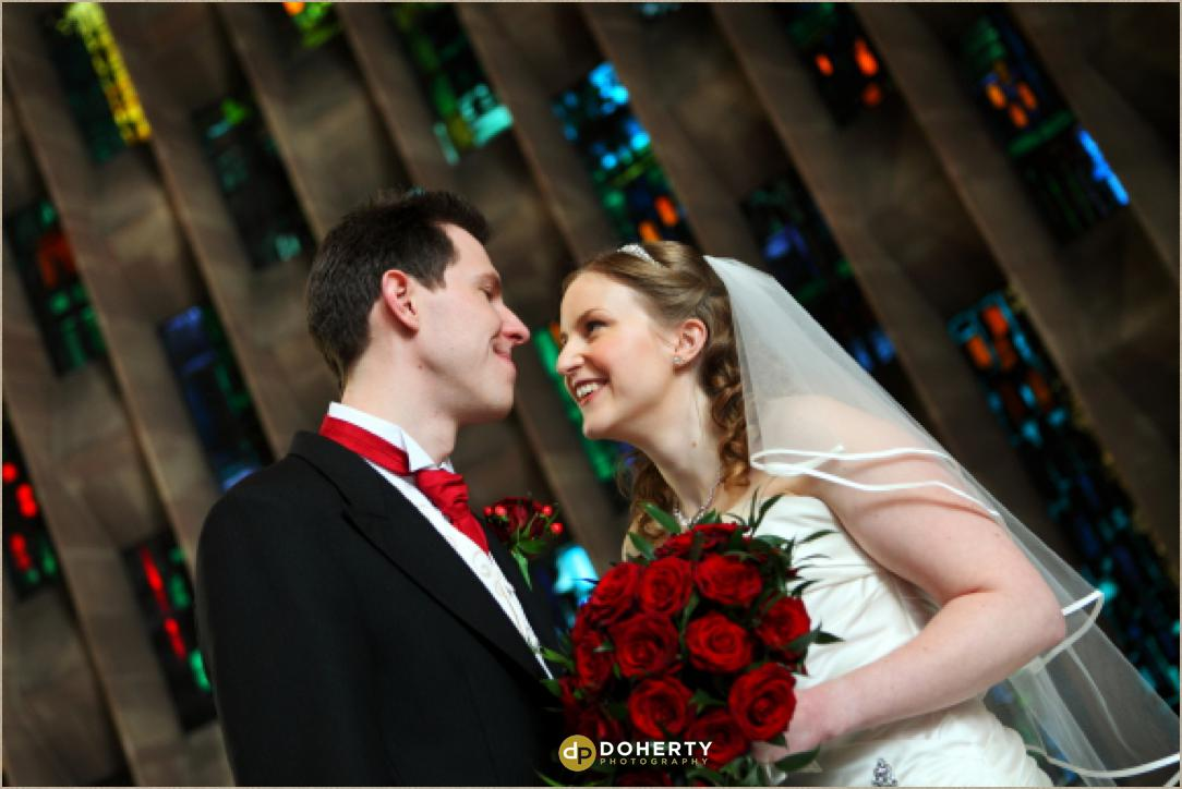Coventry Cathedral wedding ceremony