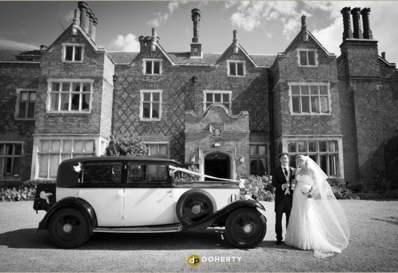 Hodsock Priory wedding