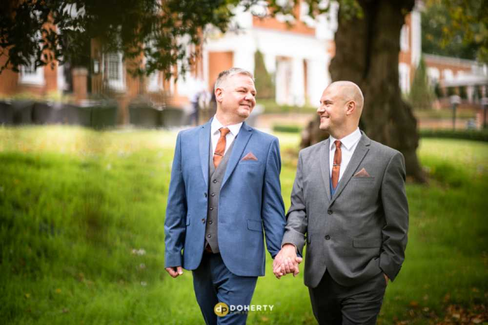 Micro Wedding Photography - Manor Hotel couple