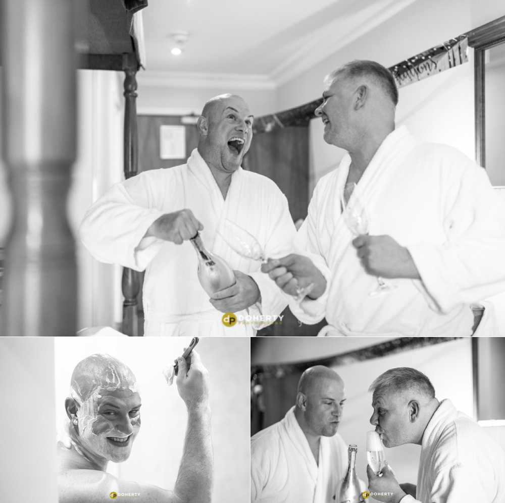 Micro Wedding Photography - grooms prepare