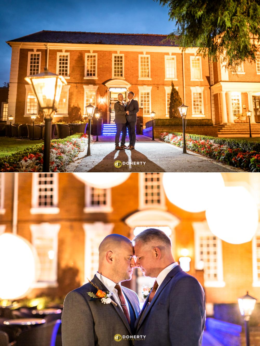 same-sex Wedding Photography - Manor Hotel