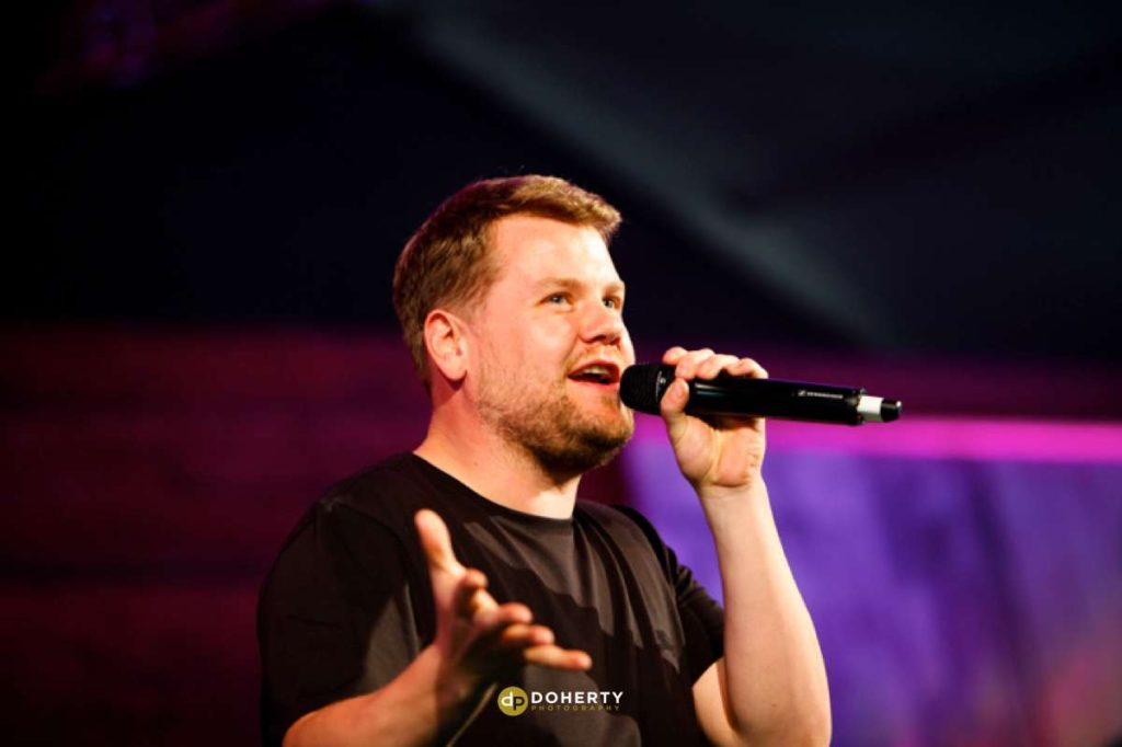 Event Photography with James Corden hosting