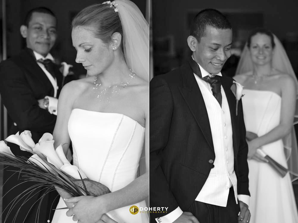 Draycote Hotel bride and groom - Warwickshire Photographer