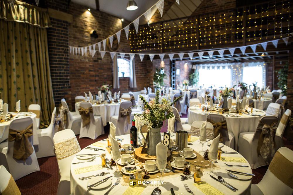 Litchfield wedding room set up