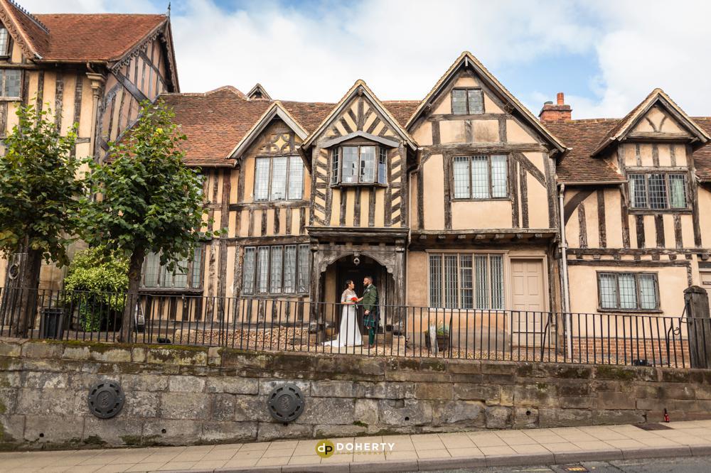 Lord Leycester wedding venue in Warwick