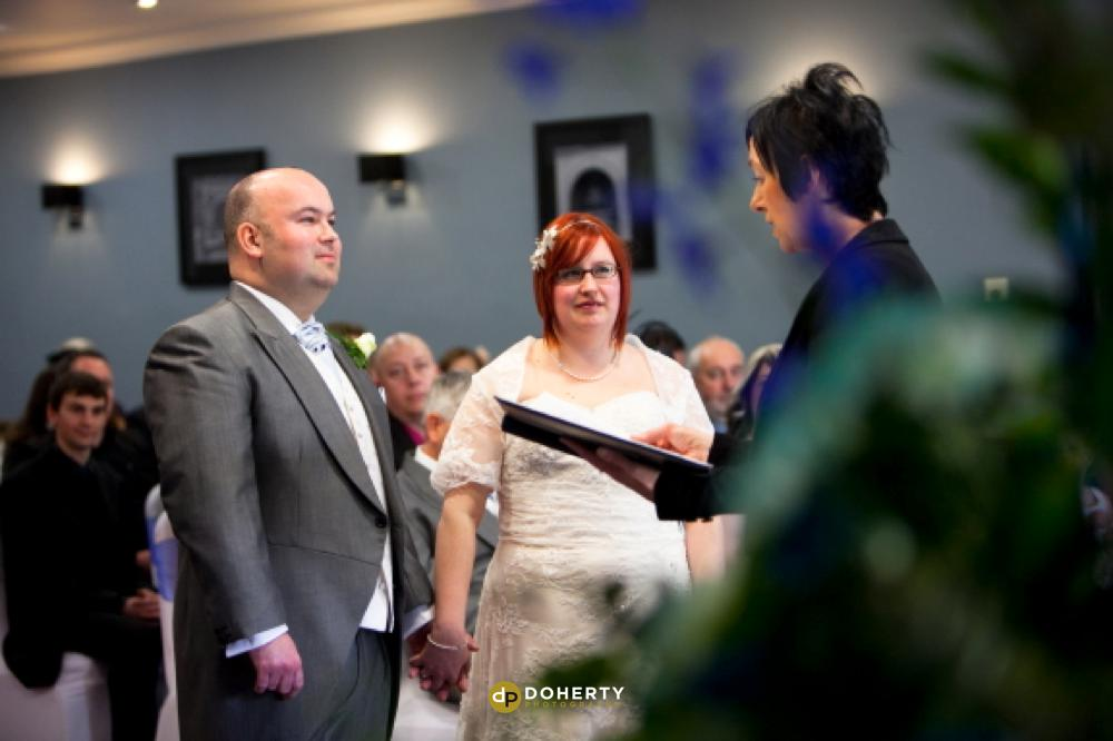 Bride and Groom at Village Hotels Coventry for their wedding