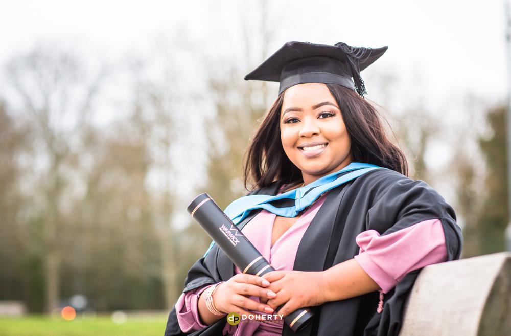 Graduation Portraits at Warwick University