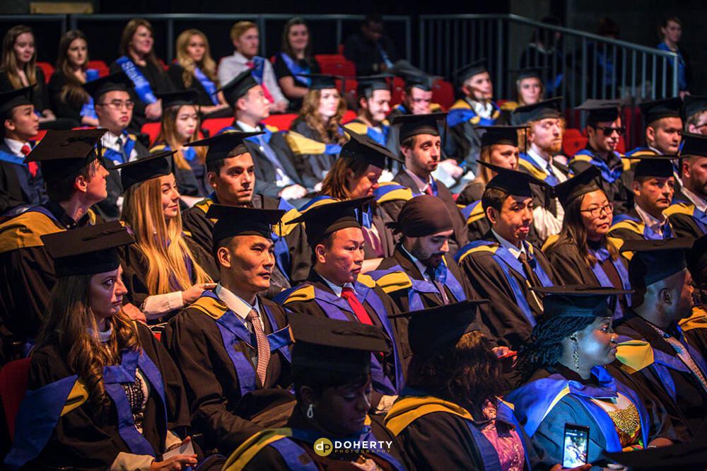 Graduation Portraits at Coventry university
