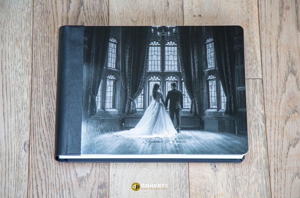 Luxury Brushed Metal Wedding Albums Designed