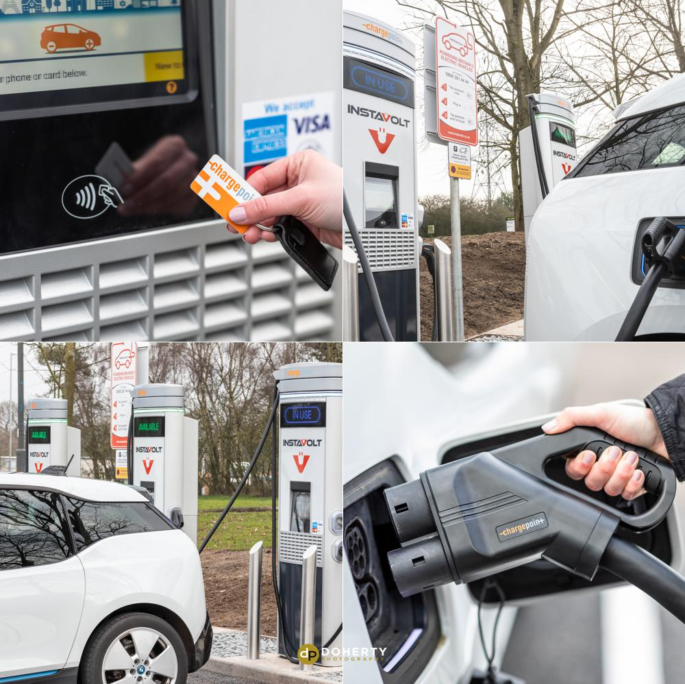 Electric Vehicle Charger - Commercial Photography