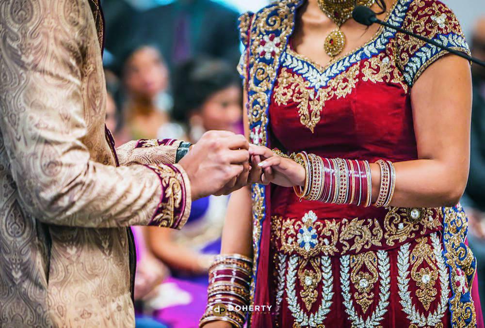 Asian wedding ceremony