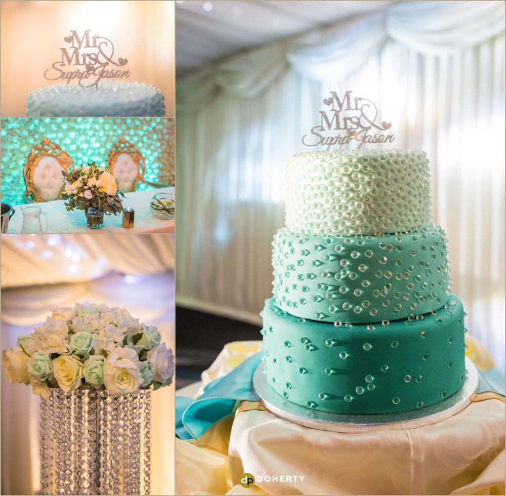 Fusion Wedding Photography - Coombe Abbey - Cake