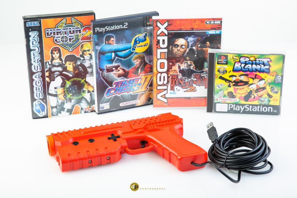 Product Photography Birmingham - Studio photos of a gaming gun