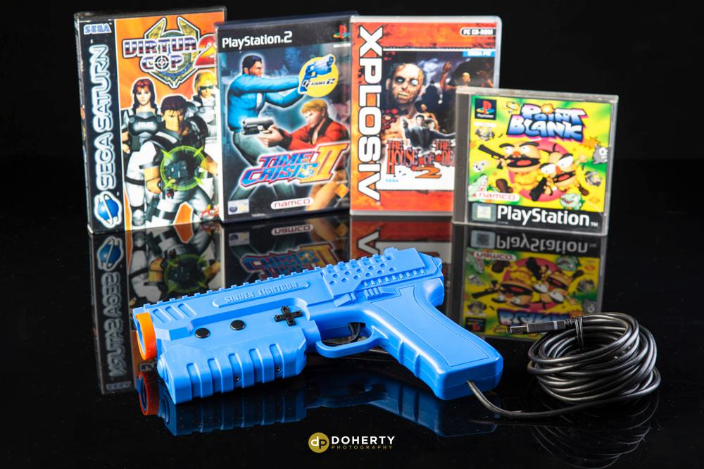 Nintendo gaming gun