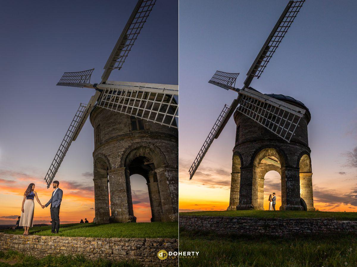 Sunset Portraits at Chesterton Windmill