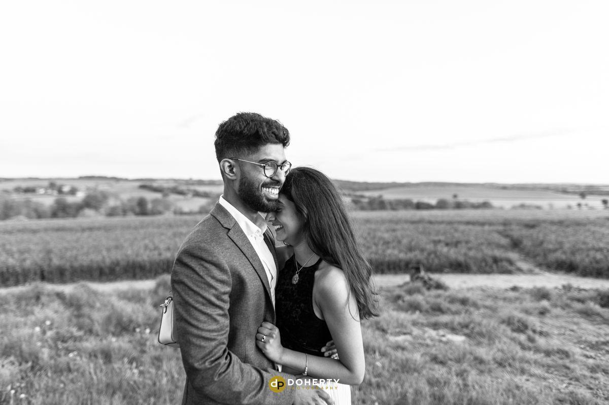 Wedding proposal portraits