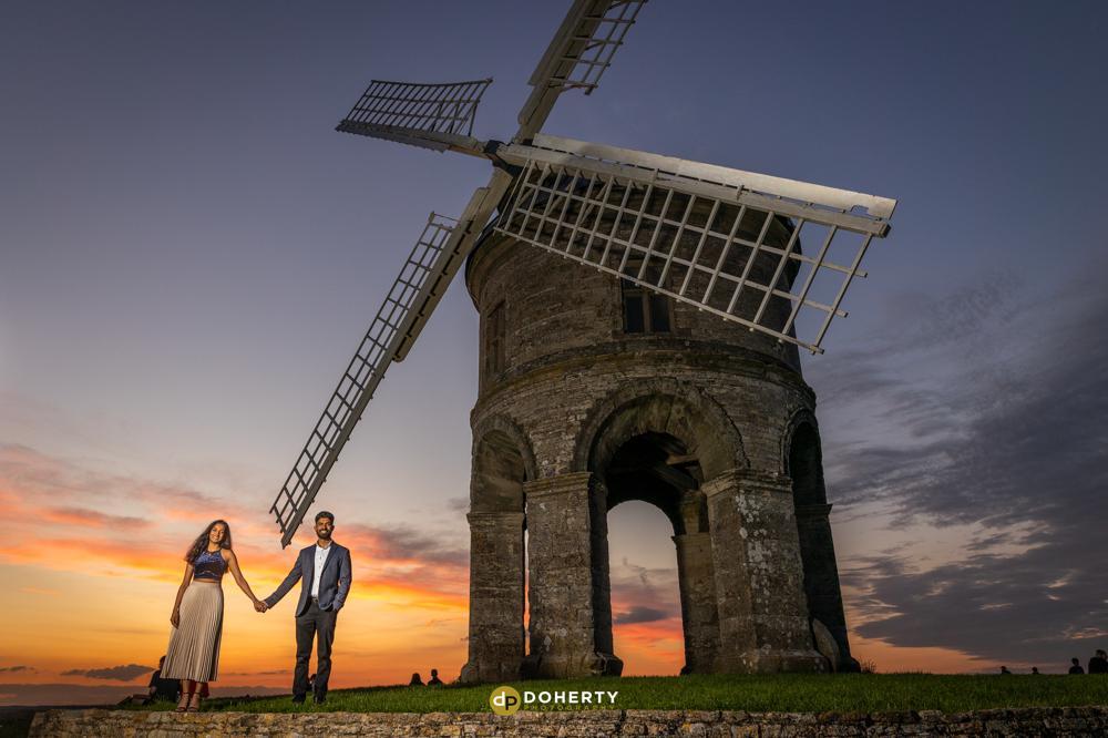 Engagement Proposal Portraits - Chesterton Windmill