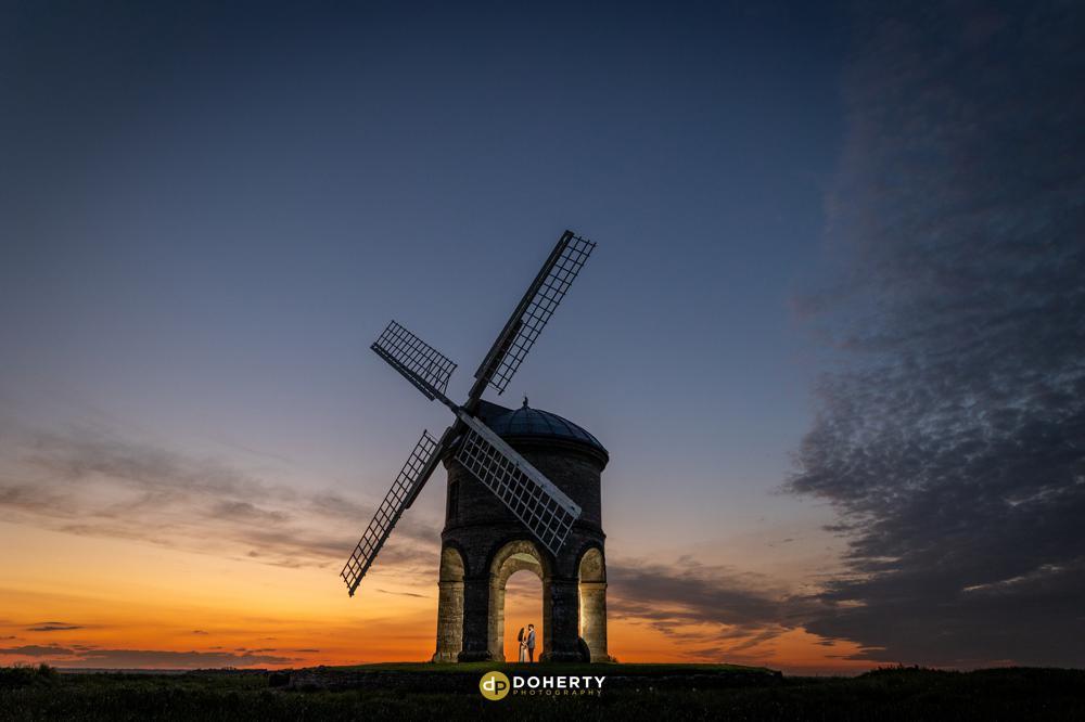 Engagement Portraits - Wedding Proposal - Chesterton Windmill
