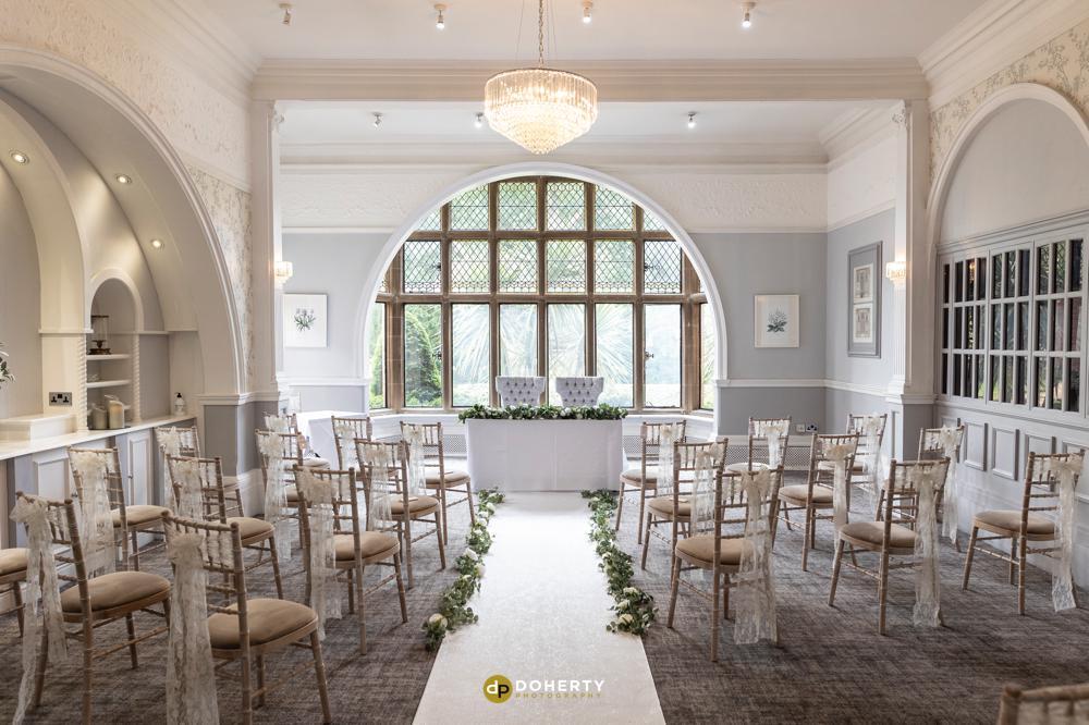 Laura Ashley Liffe Hotel wedding ceremony room