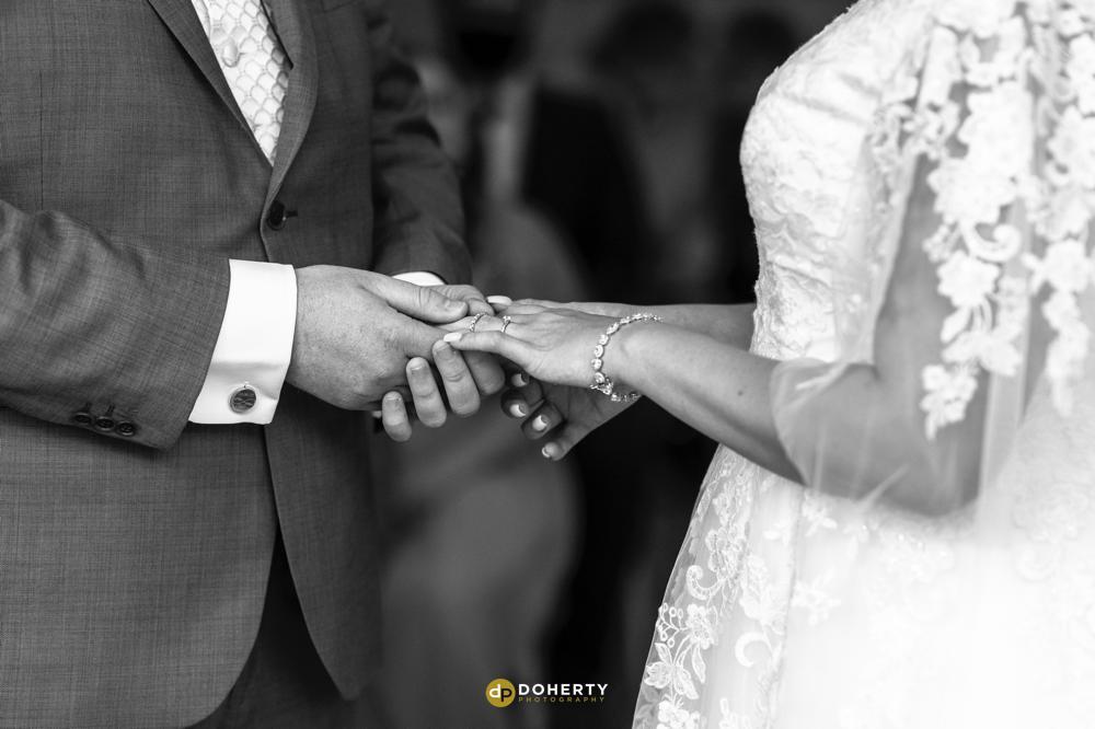Exchange rings - Illife Hotel - Laura Ashley - Wedding Photography