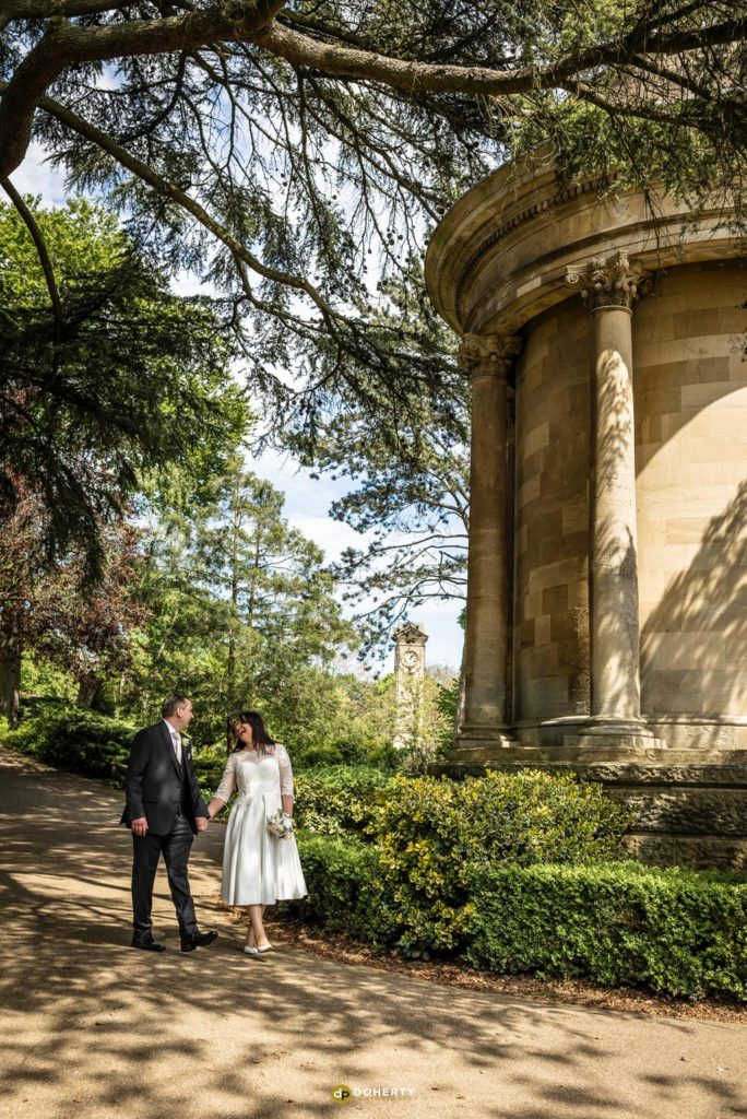 Jephson Gardens Wedding photos in Leamington Spa