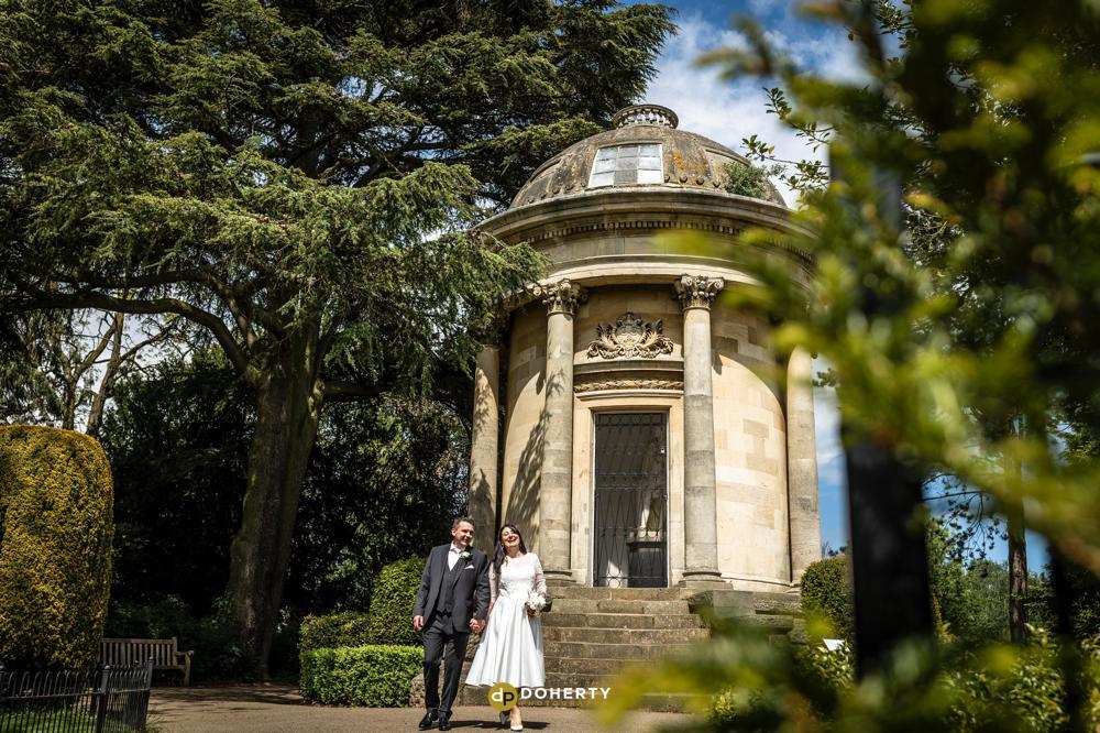 Jephson Gardens Wedding photography