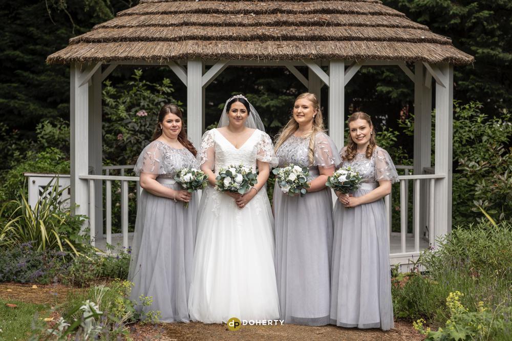 Bridesmaids at Laura Ashley Iliffe Hotel