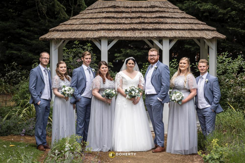 Wedding Bridal Party at Laura Ashley Iliffe Hotel