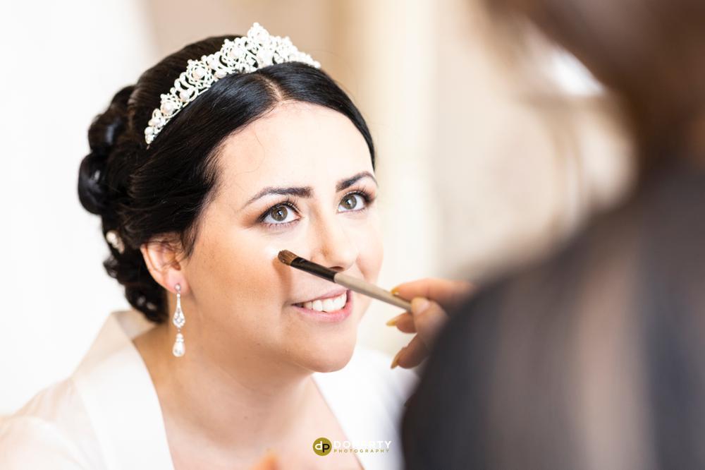 Bride Preparations - Illife Hotel - Laura Ashley - Wedding Photography